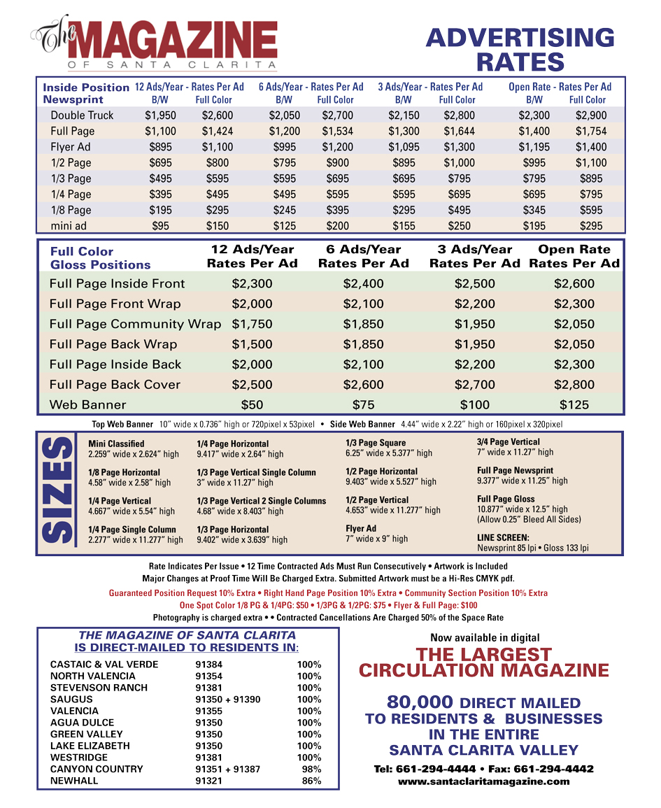 Magazine-One-Page-Rates