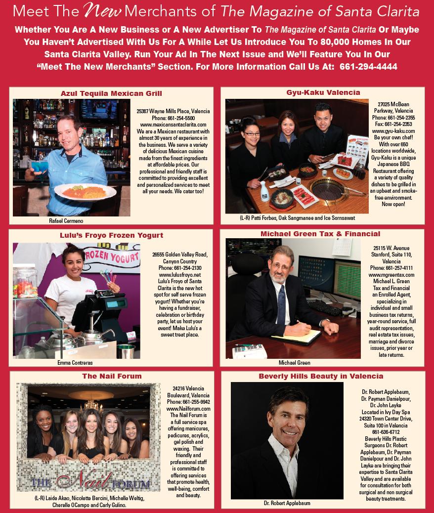 Meet the New Merchants of November 2013 - Santa Clarita Magazine