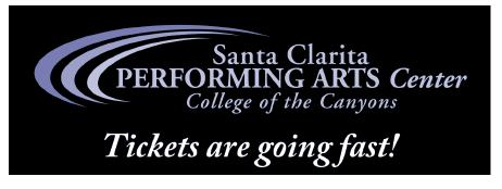 Kick Off The '20s at the Santa Clarita Performing Arts Center!