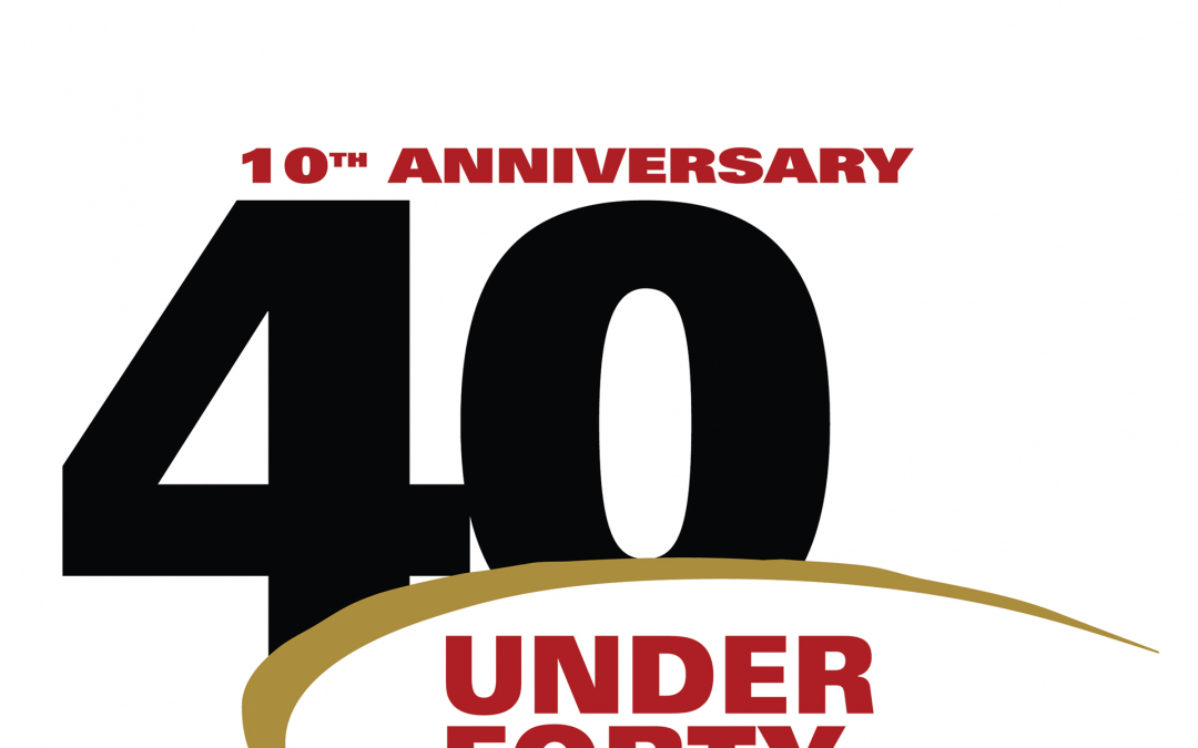 SCV 40 Under Forty Nominations closing on August 1, 2019