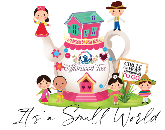 Circle of Hope's Annual Afternoon Tea Save-The-Date October 3, 2020