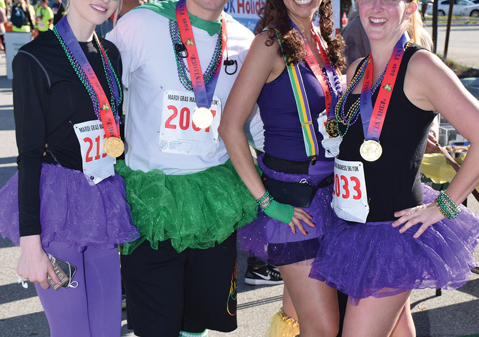 The Stage is Set for SOAR's10th Annual Mardi Gras Madness 5K/10K at VTC!