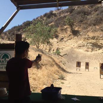 Pistol Range at Oak Tree Gun Club