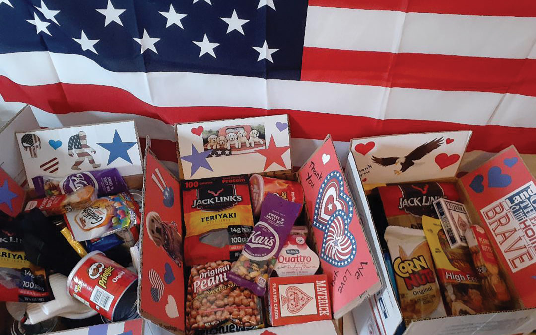 Land of the Free Care Packages for Santa Clarita Troops