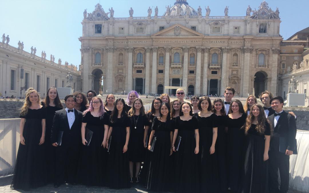 Valencia High School Choir goes to Europe