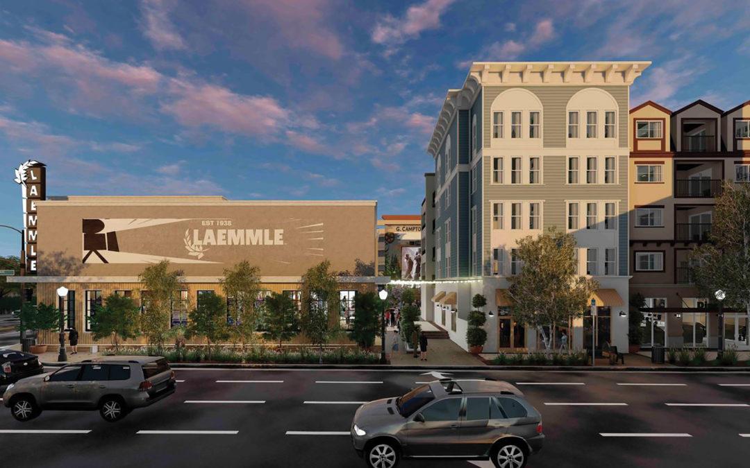 Growth in Santa Clarita – Newhall Crossing/Laemmle Theatre