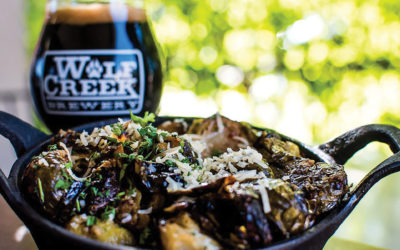 Wolf Creek's Crispy Roasted Brussel Sprouts