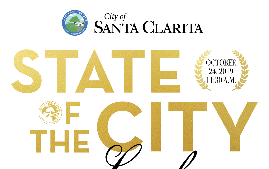 Tickets on Sale 2019 State of the City Luncheon This Year's Theme is Lights, Camera, Santa Clarita!