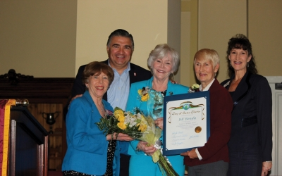 Jill Bondy Receives Carmen Sarro Award