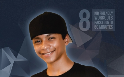 "Fifteen-year-old Creates Workout DVD for Kids ""Fitness 4 Kids"" designed to help fight obesity in children and adolescents"