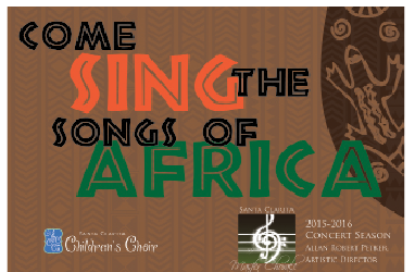 Come for the Joy, Stay for the Rhythm SC Master Chorale Sings the Songs of Africa