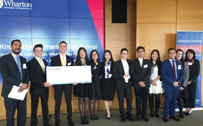 West Ranch Wins Global Competition Two Years in a Row Back-to-back investment champions!
