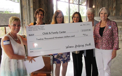 Child & Family Center Receives Donation from Women Helping Youth