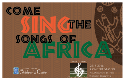 Come for the Joy, Stay for the Rhythm as the SC Master Chorale Sings the Songs of Africa