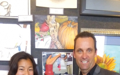 West Ranch Student Wins Congressional Art Competition