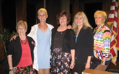 Zonta Names Zontian of the Year – New officers were installed at annual dinner