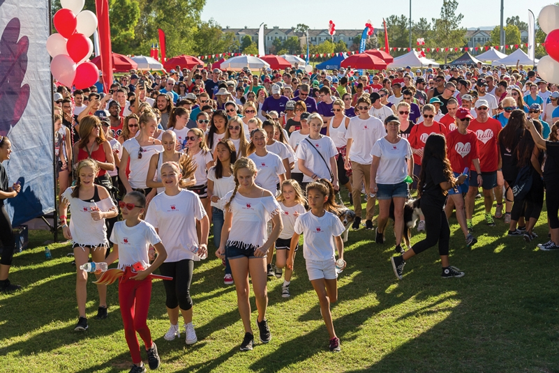 Take Steps – Save Lives! Join the Heart Walk at Bridgeport Park on October 15