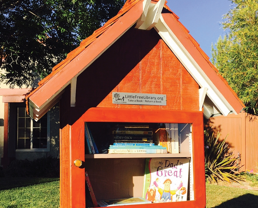 On the Same Page – Little Free Library shares literature with community