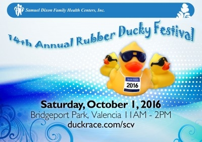 New Activities Announced for 14th Annual Rubber Ducky Festival