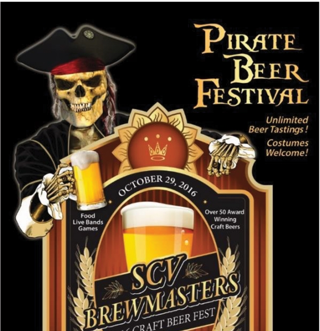 SCV Brewmasters Pirate Beer Festival – Support our local Veterans and Active Military
