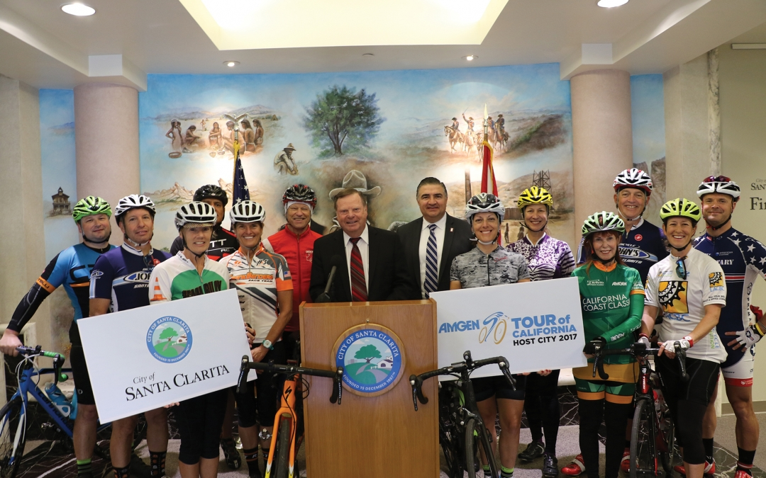 City of Santa Clarita Returns as Host City for 2017 Amgen Tour of California