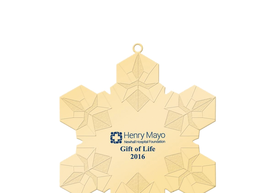 Gift of Life Ornaments Benefit Patient Care This holiday season, give the Gift of Life!