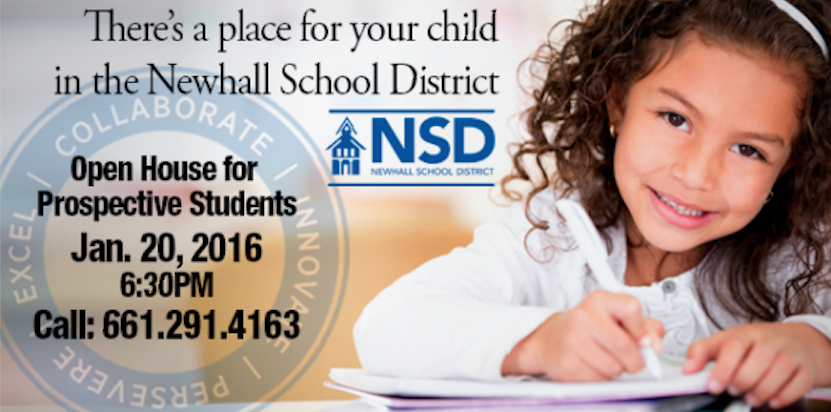 You Do Have a Choice in Public Schools – Newhall School District Hosting Open House