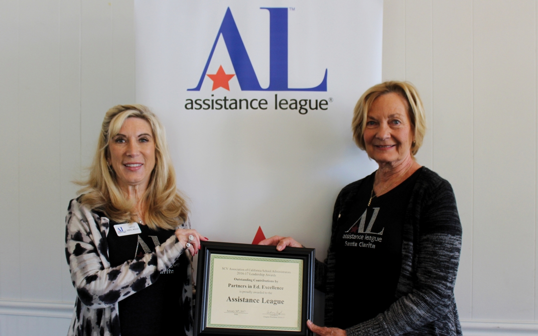 Assistance League® Honored for Supporting SCV Students