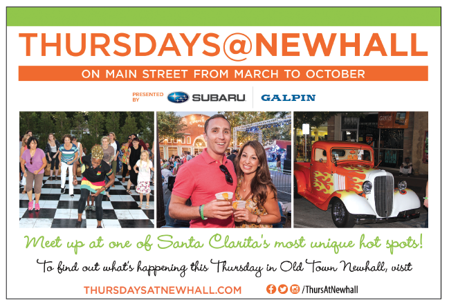 Thursdays @ Newhall Series is Back in Old Town Newhall for the 2017 March to October Season