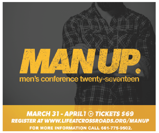 Crossroads' Man Up Conference