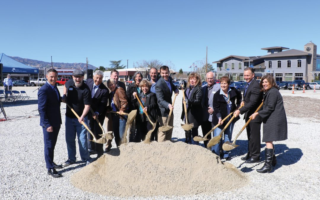 City Breaks Ground on Newhall Parking Structure