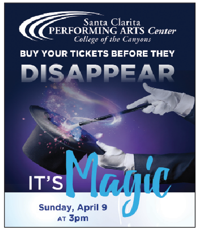 Magic & Cheer to Take Center Stage at Santa Clarita PAC