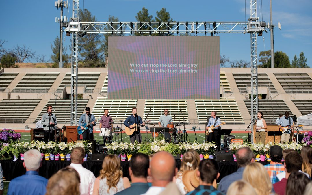 Easter at College of the Canyons 2017