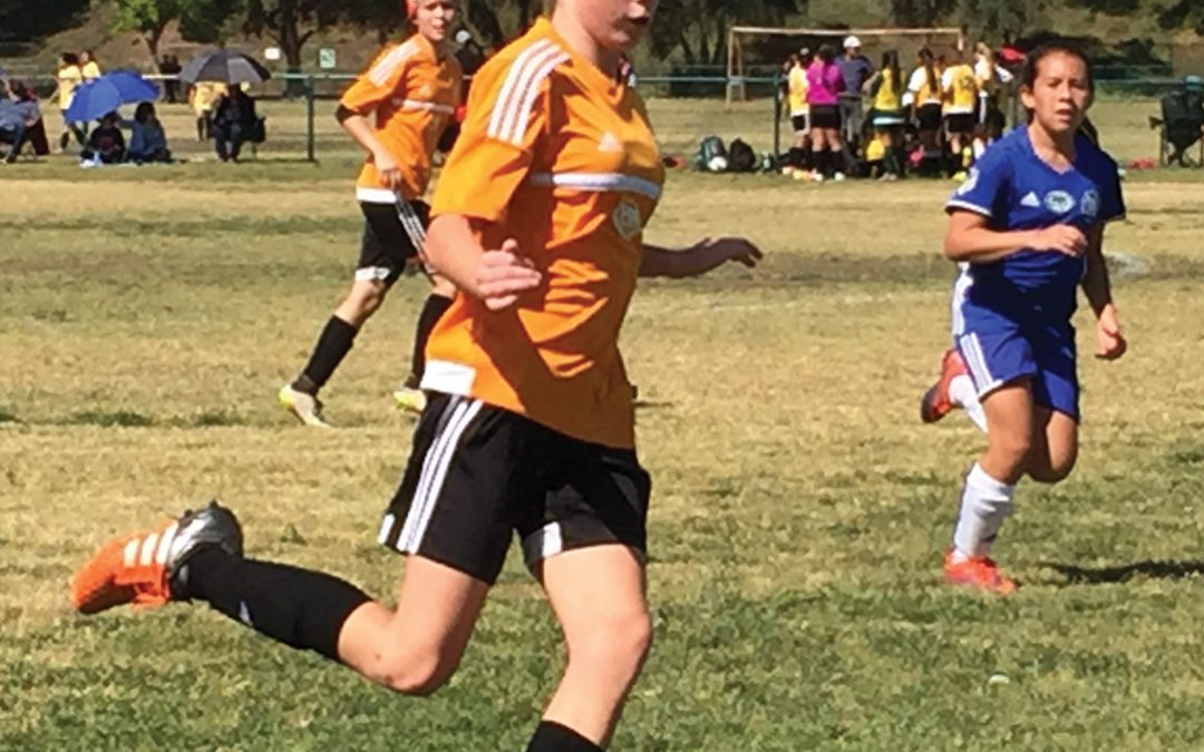 Spotlighting Our Youth – Claire Mortensen – Local junior high soccer player makes her parents proud both on the field and in the classroom