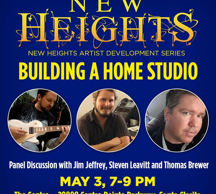Free New Heights Panel Discussion Focuses on how to build a home studio