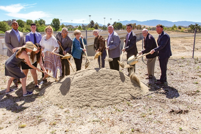 Newhall Ranch Road Bridge Widening Project Groundbreaking