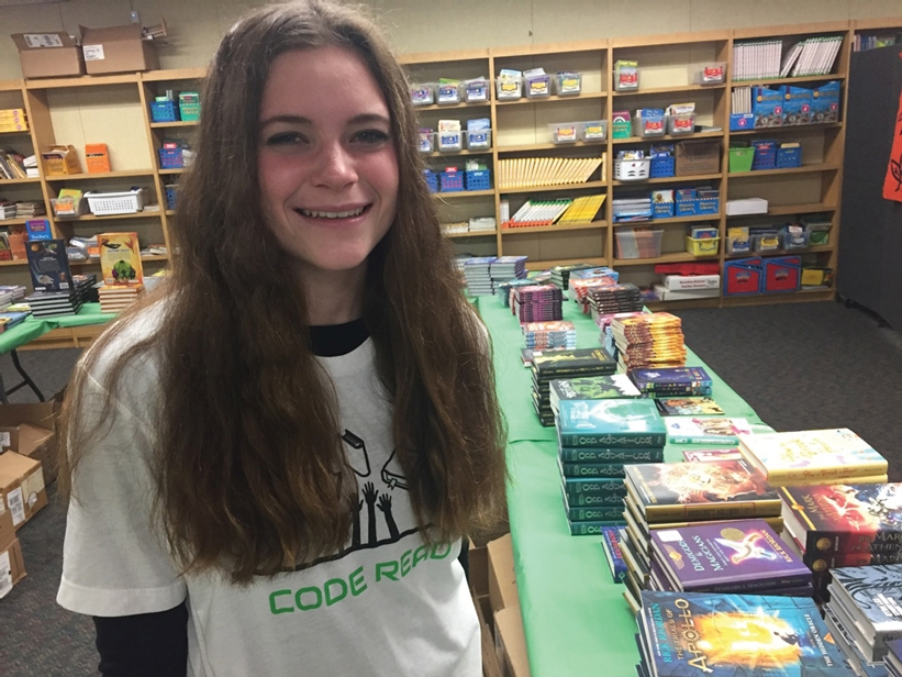 Spotlighting Our Youth – Mackenzie Krestul High School Student Donates 4,000 New Books to Children in Need
