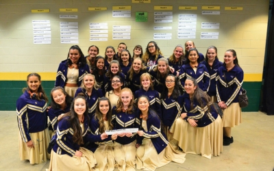 West Ranch Colorguard Takes 14th Place at Nationals