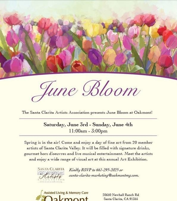 June Bloom at Oakmont