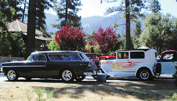 Beat the Heat! Visit beautiful Pine Mountain Village for the 19th annual Run to the Pines Car Show on Saturday August 12th