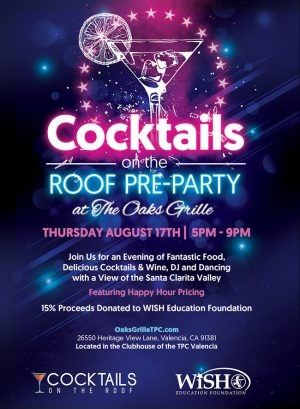 Cocktails on The Roof PRE-PARTY Announcement