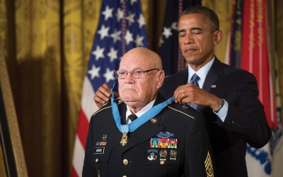 Saluting Our Veteran of Character – A Special Celebration and Address by Medal of Honor Recipient Bennie G. Adkins