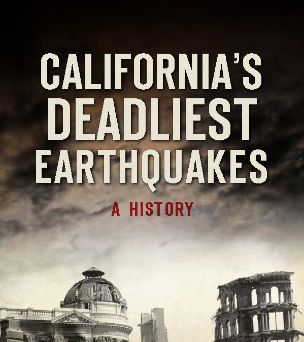 "Author and Historian: Abraham Hoffman To give a talk on his new book: ""California's Deadliest Earthquakes, A History"" at the Newhall Library"