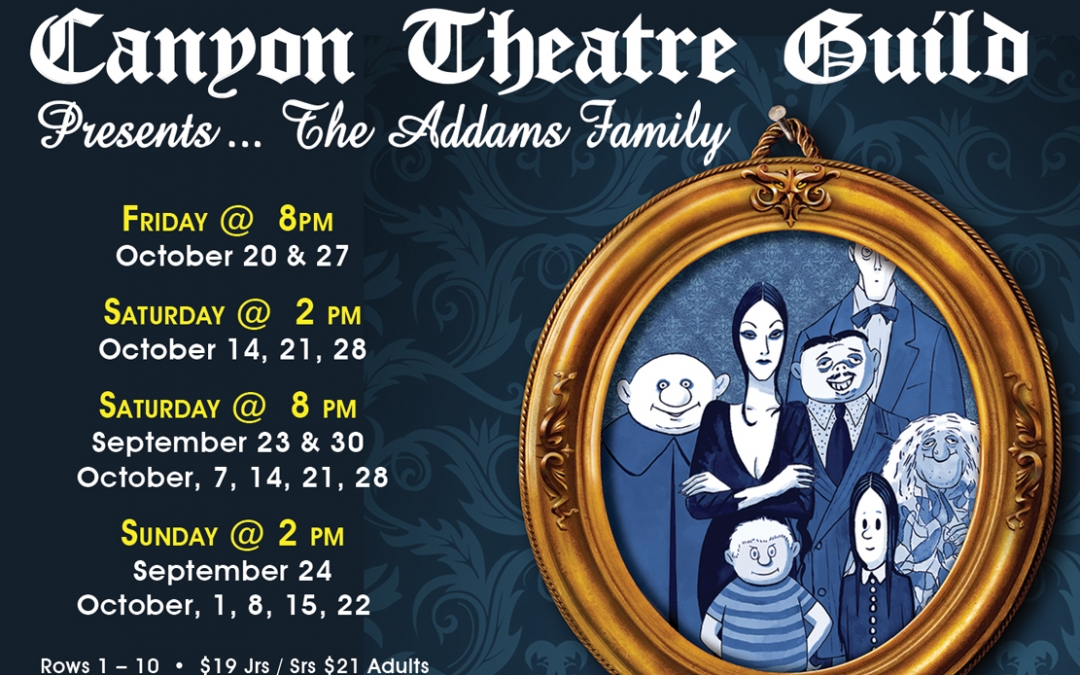 When You're an Addams…