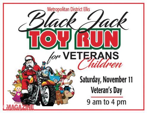 Elks Black Jack Toy Run for Veterans Children