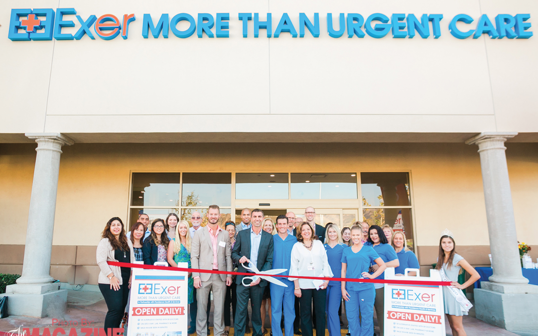 Exer More Than Urgent Care Opens New Medical Facility in Stevenson Ranch