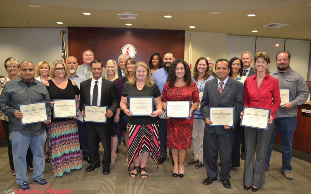 Classified Employees of the Year Recognized by Hart Governing Board