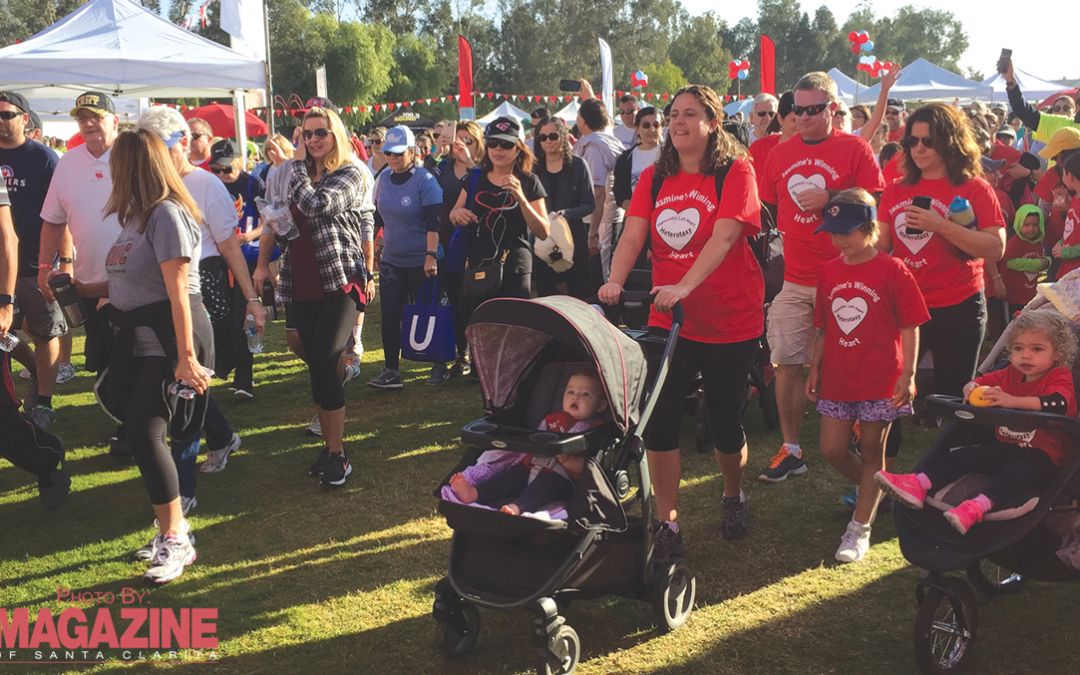 There Will Be Lot's of Fun at the HeartWalk 2017
