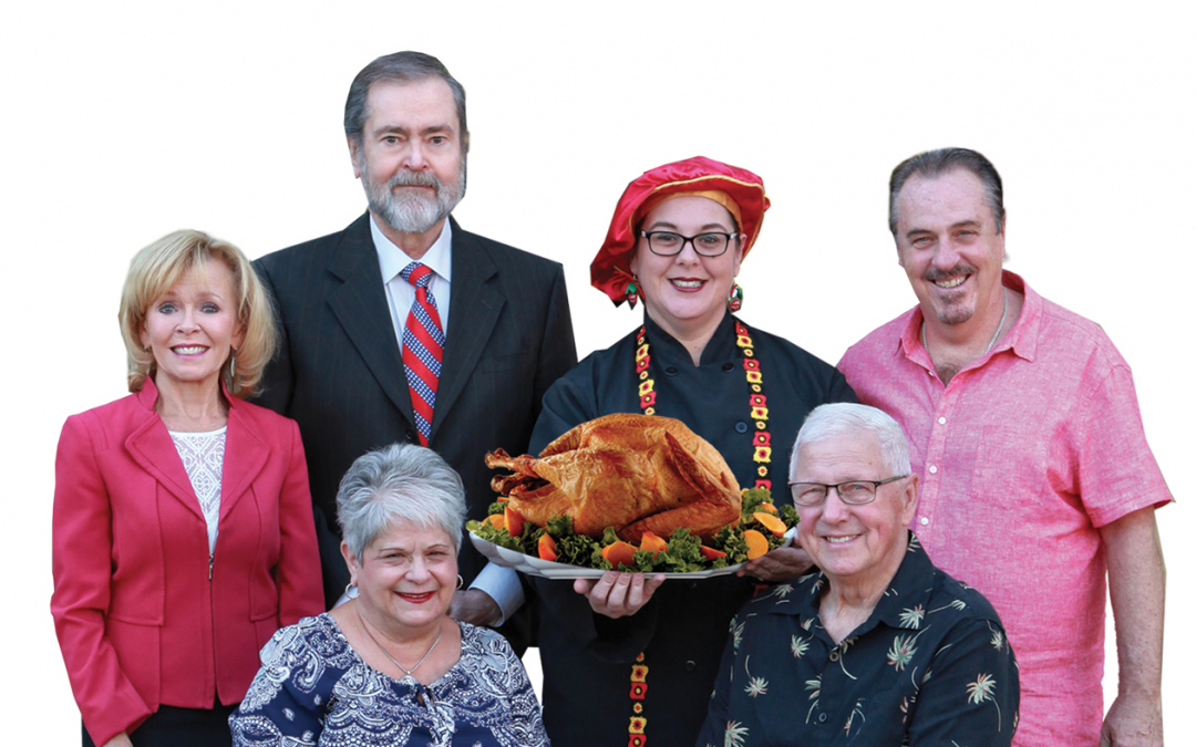 An Invitation for Seniors Thanksgiving Party and Feast