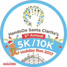Give Back with HandsOn Santa Clarita's Holiday Run through Six Flags Magic Mountain